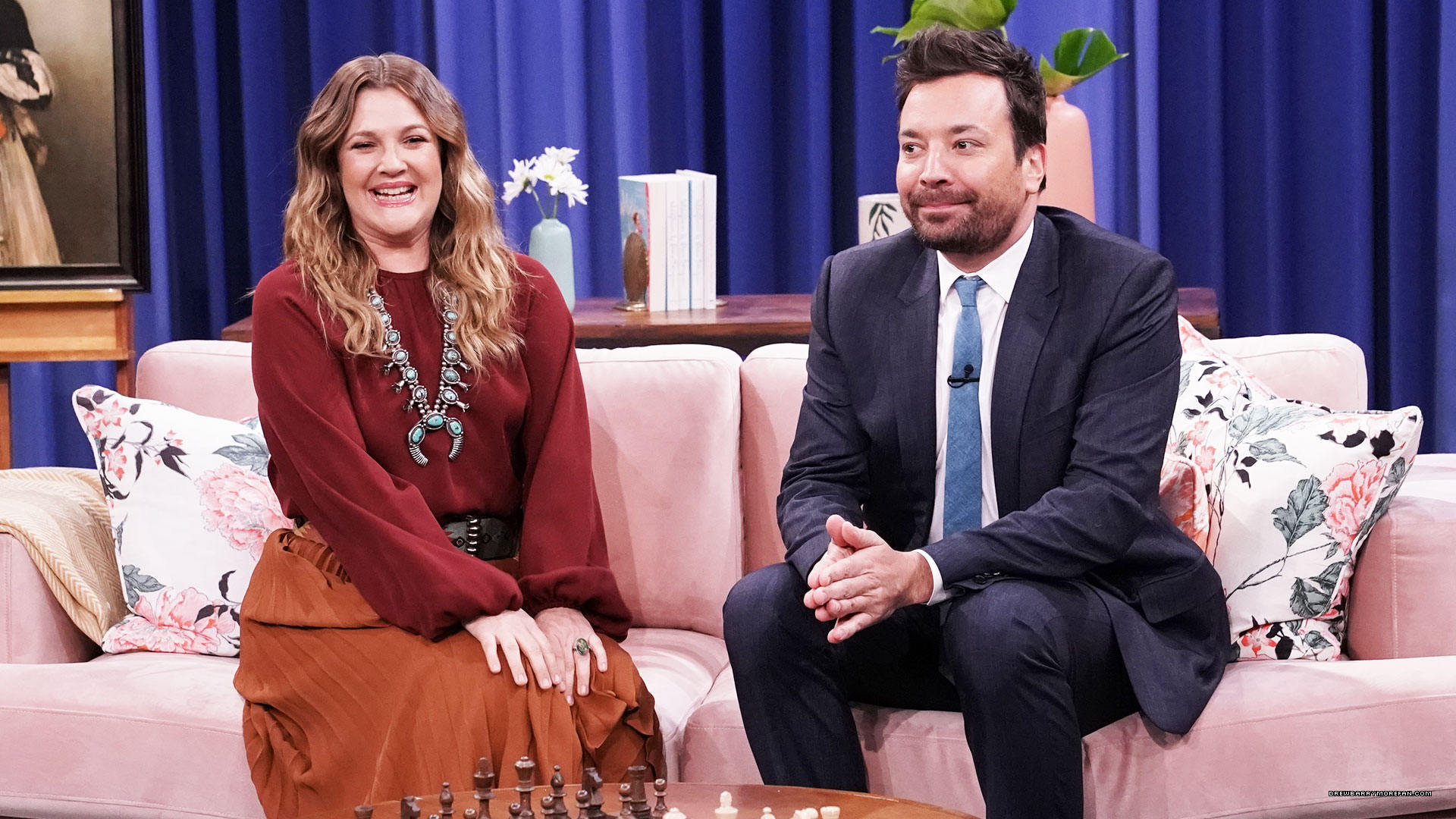 Press/Photos/Video: Drew on 'The Tonight Show with Jimmy Fallon'